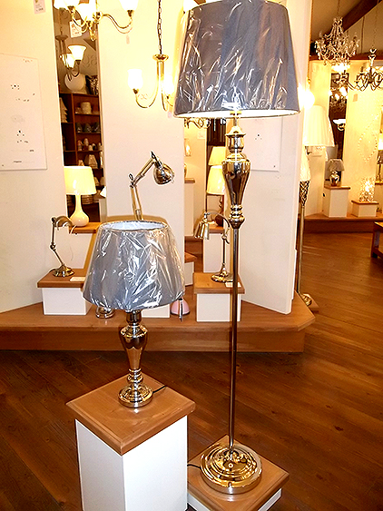 Matching table lamp